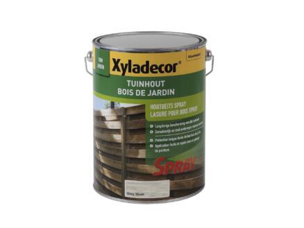 Xyladecor houtbeschermer spray 5l grey wash