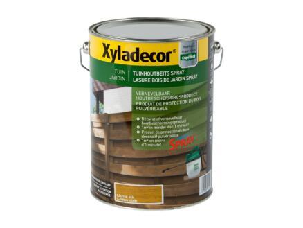 Xyladecor houtbeschermer spray 5l lichte eik