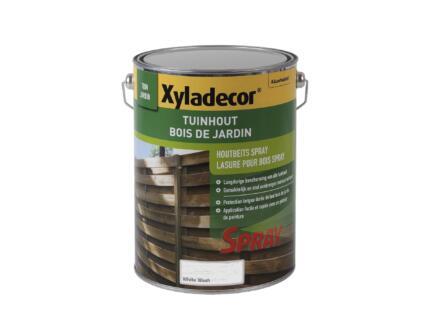 Xyladecor houtbeschermer spray 5l white wash