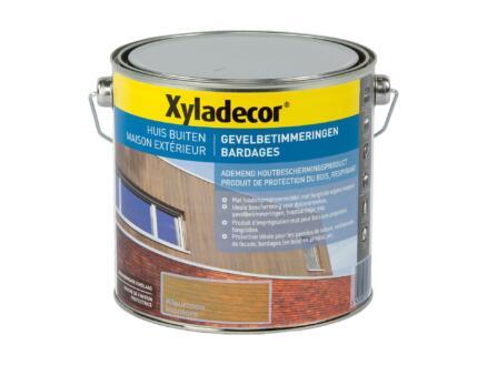 Xyladecor houtbescherming gevelbetimmering 2,5l kleurloos