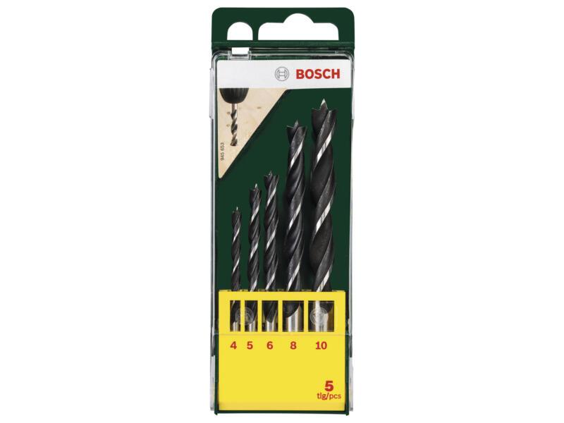 Bosch houtborenset 4-10 mm 5-delig