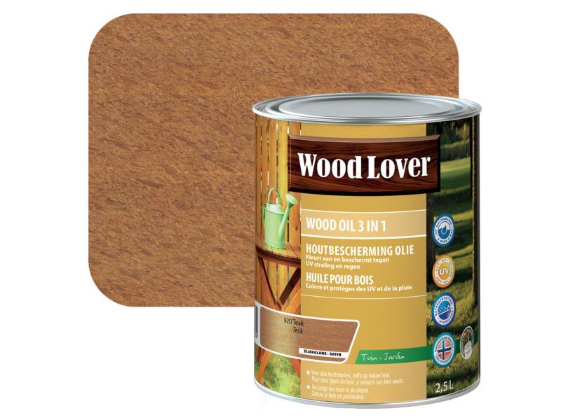 Wood Lover huile bois 2,5l teck #920