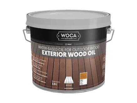 Woca huile bois extérieur 2,5l mélèze