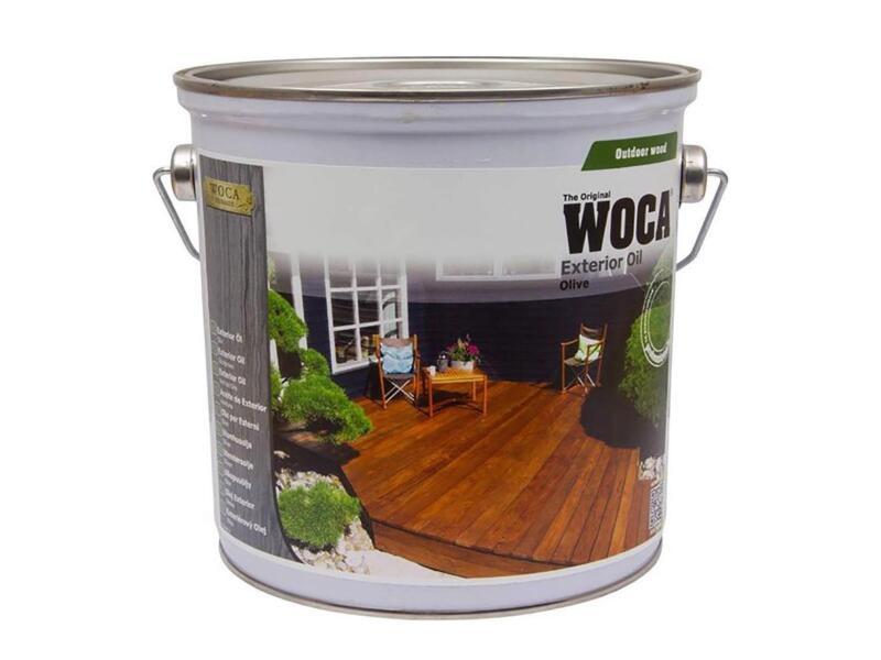 Woca huile bois extérieur 2,5l olive