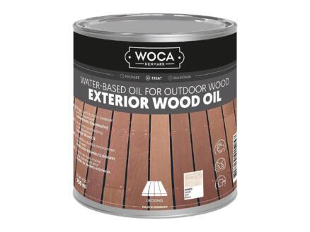 Woca huile bois extérieur 750ml blanc