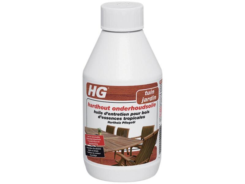 HG huile d'entretien pour bois d'essences tropicales 0,25l