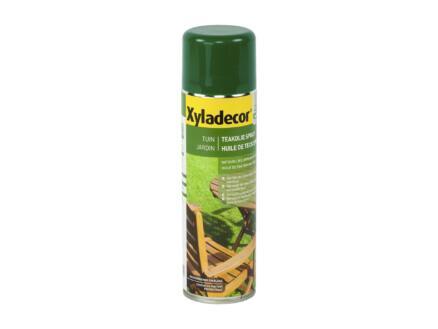 Xyladecor huile de finition teck aérosol 0,5l naturel