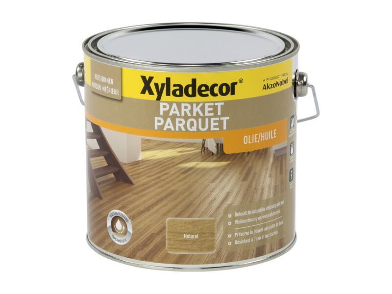 Xyladecor huile parquet 2,5l naturel