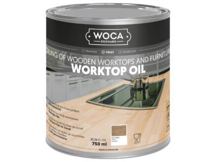 Woca huile plan de travail 750ml gris