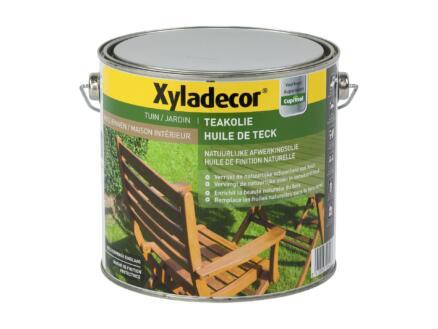 Xyladecor huile teck 2,5l naturel