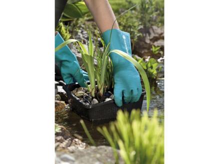 Gardena huishoudhandschoenen 7/S latex groen