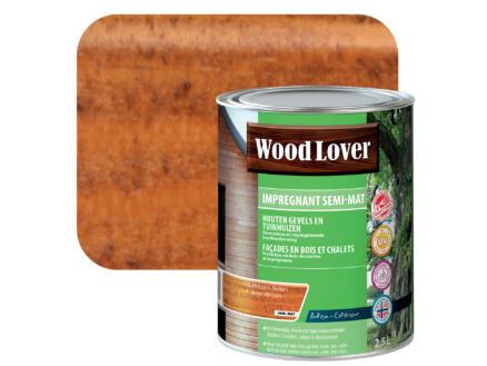 Wood Lover impregneerbeits 2,5l Afrikaans noten #630