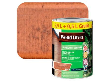 Wood Lover impregneerbeits 3l meranti rood #647