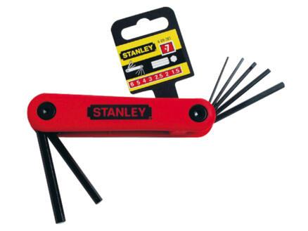 Stanley inbussleutelset 1,5-6 mm 7-delig