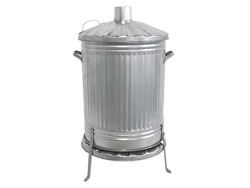 Practo Garden incinérateur modèle lourd 115l