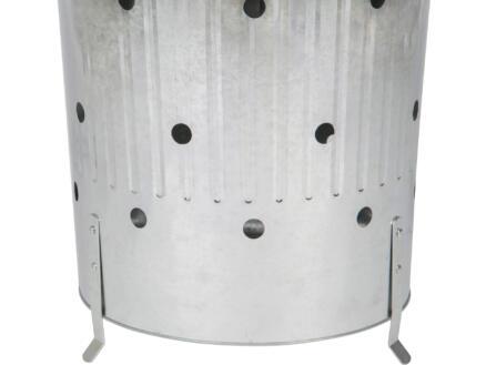 Practo Garden incinérateur pour déchets végétaux 90l
