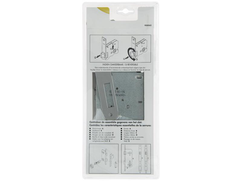 Yale insteekslot dubbel afgerond 110/60 L-R epoxy