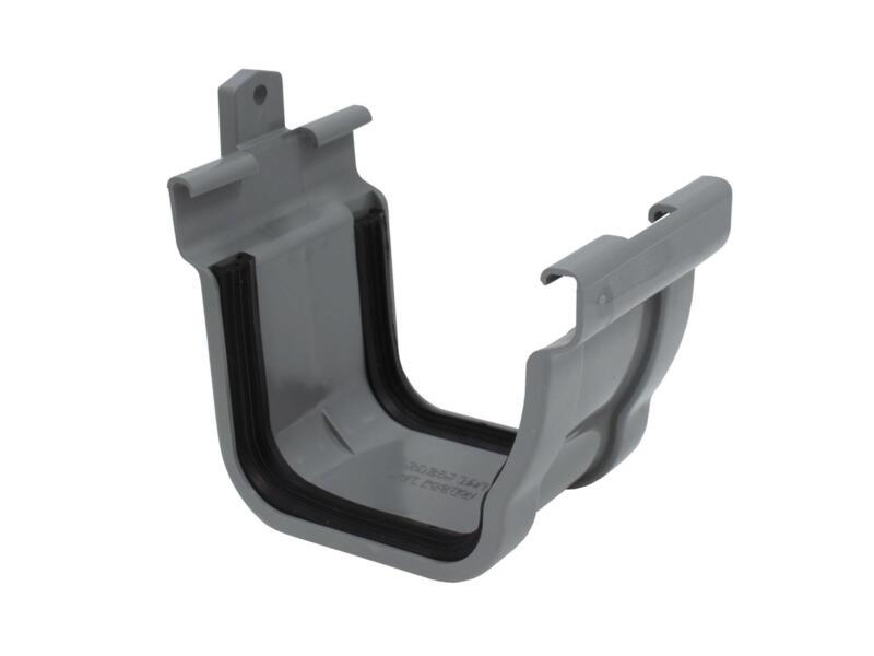 Scala jonction pour gouttière C140 PVC gris foncé