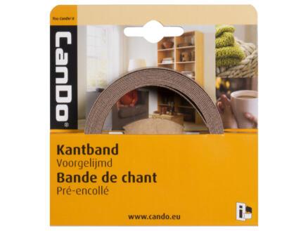 CanDo kantenband 2,8m x 24mm aluminium grijs