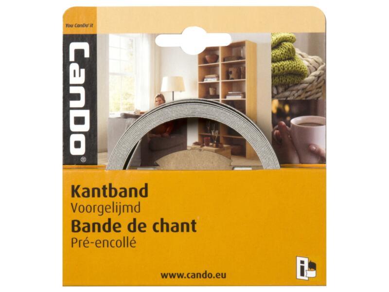 CanDo kantenband 2,8m x 24mm vergrijsde eik