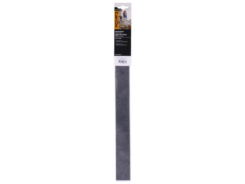 CanDo kantlaminaat 43x4 cm donker beton