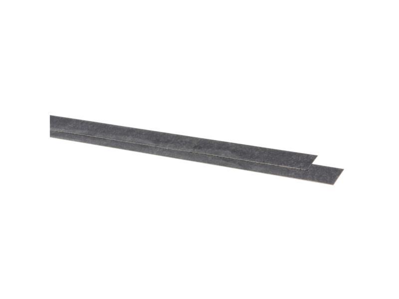 CanDo kantlaminaat 85x4 cm marmer zwart