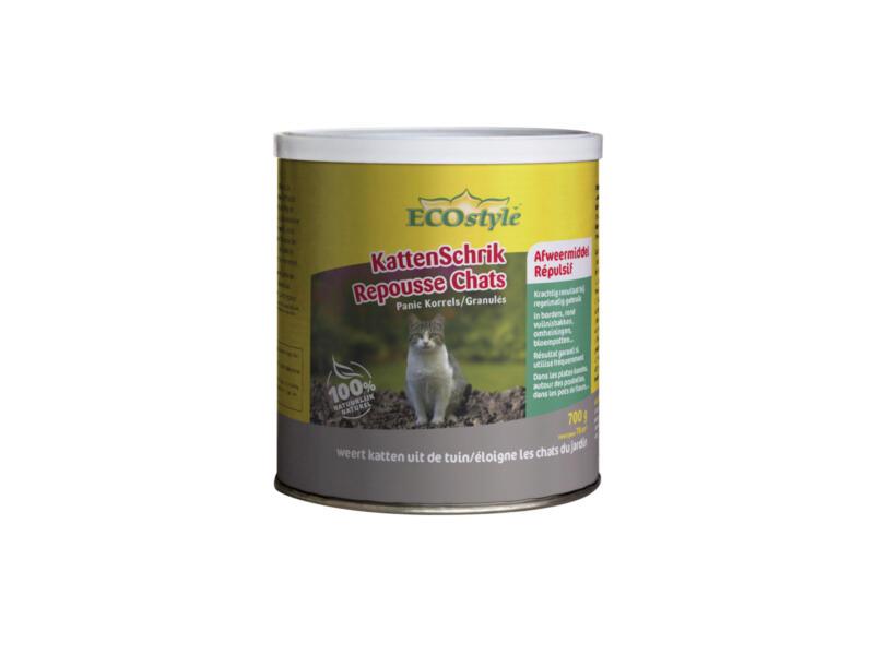 Ecostyle kattenschrik afweermiddel korrels 700g