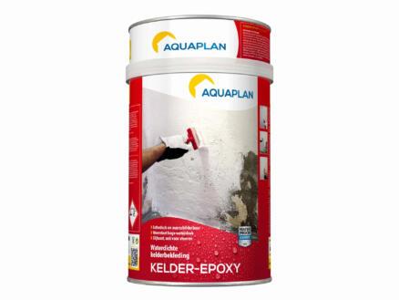Aquaplan kelder-epoxy 4l wit