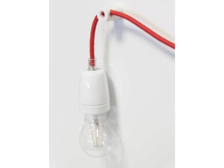 Chacon kit de décentralisation luminaire blanc 2 pièces