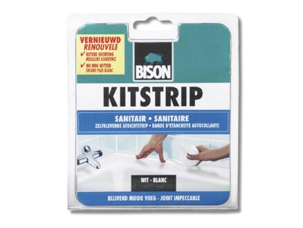 Bison kitstrip voor badkamer 38mm 3,35m wit
