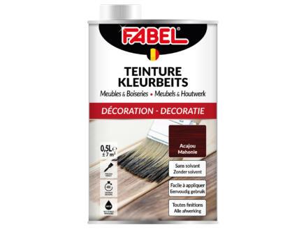 Fabel kleurbeits meubels & houtwerk 0,5l mahonie