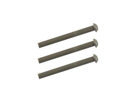 Polet klinknagels spade ronde kop 5x50 mm 3 stuks