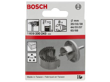 Bosch Professional klokborenset 25-68 mm 8-delig