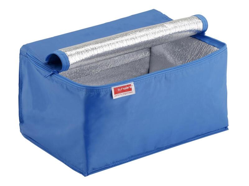 Sunware koeltas voor plooibox Square 24l blauw