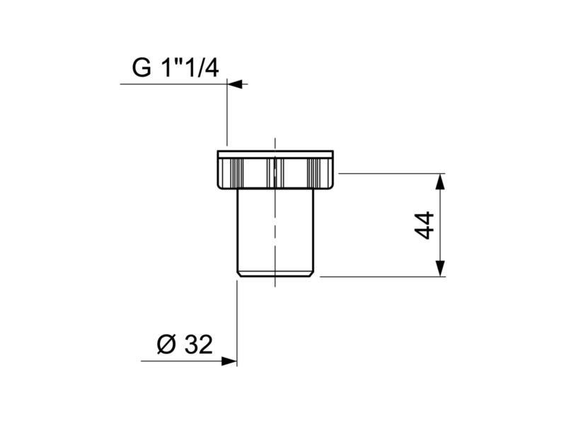 Wirquin kraagstuk 32mm