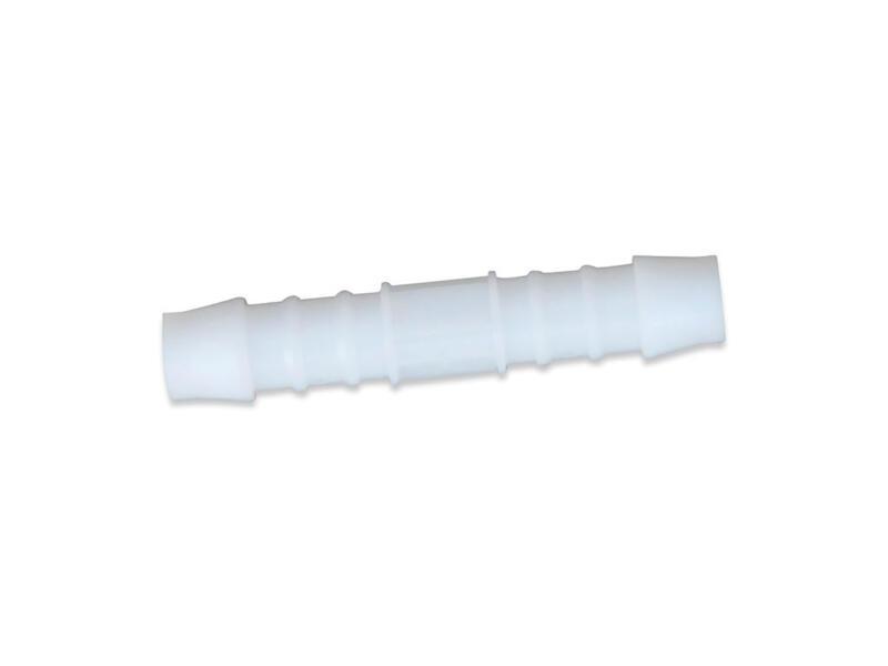 Scala kristaldarm verbindingsstuk 8mm wit 2 stuks