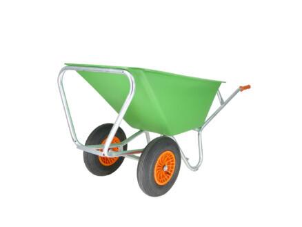 Altrad kruiwagen 2 wielen 170l groen
