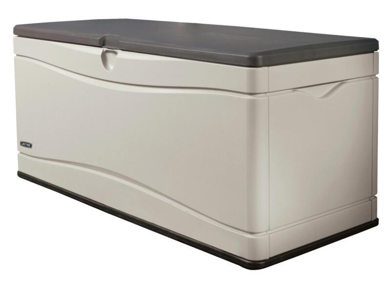 Lifetime kussenbox 152,4x61x67,3 cm beige