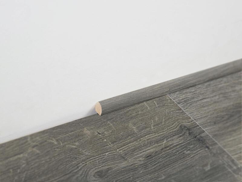 Berry Alloc kwartronde lat 14x14 mm 240cm gyant grey