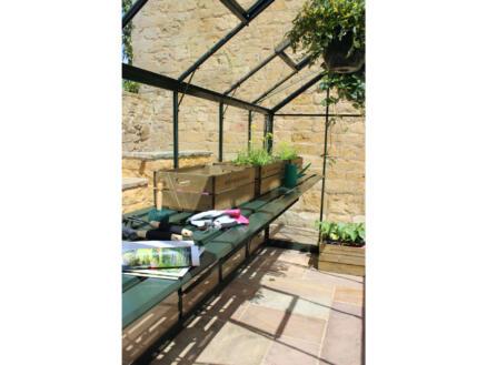 Eden kweektafel serre Burford 106 groen