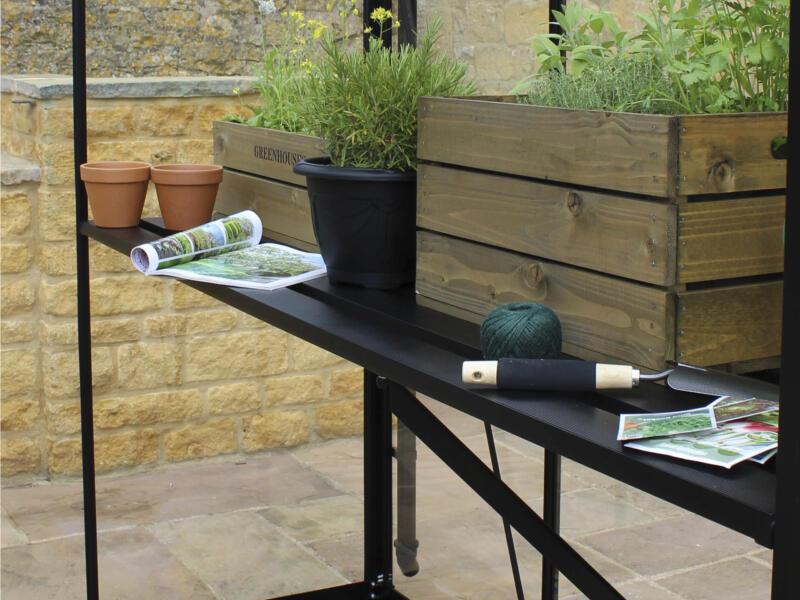 Juliana kweektafel serre Gardener 214 zwart