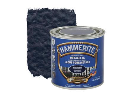 Hammerite lak hoogglans 0,25l donkerblauw