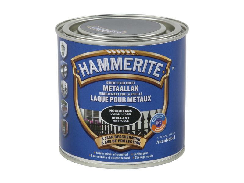 Hammerite lak hoogglans 0,25l donkergroen