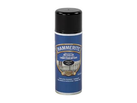Hammerite lak hoogglans 0,4l zwart