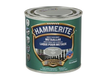 Hammerite lak zijdeglans 0,25l grijs