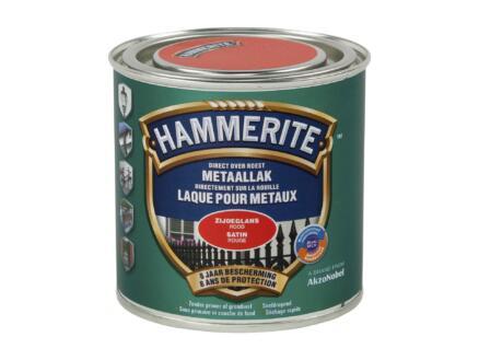 Hammerite lak zijdeglans 0,25l rood
