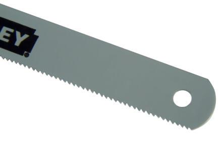 Stanley lame de scie 300mm métal 2 pièces