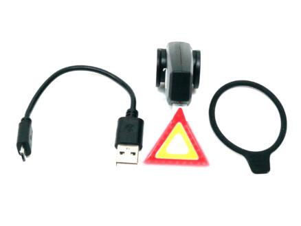 Maxxus lampe arrière avec USB warning
