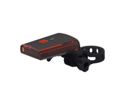 Maxxus lampe de vélo arrière avec USB 3 LED pile muon 3 fonctions