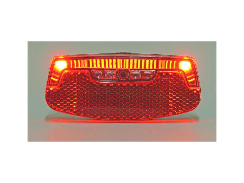 Maxxus lampe de vélo arrière pour porte-bagage LED 2 fonctions
